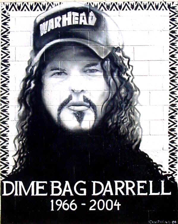 "Dimebag"" Darrell [20/08/66 - 08/12/04] Dimebag"